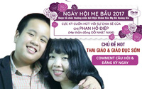 Mẹ thần đồng Đỗ Nhật Nam hé lộ chìa khóa vàng thai giáo và giáo dục sớm tại Ngày hội mẹ bầu