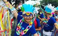 Muôn ngàn sắc màu lễ hội carnival trên đường phố Tam Kỳ, Quảng Nam