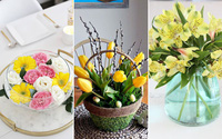 3 cách cắm hoa với sắc vàng đón hè rực nắng