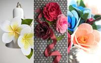 Làm hoa vải dạ chưa bao giờ dễ đến thế với 3 cách đơn giản