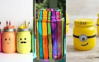 3 cách tái chế vỏ chai thành đồ dùng tiện ích cực dễ cực yêu