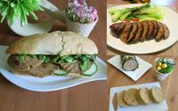 Học cách làm chả lụa và một số món chay ngon từ mỳ căn
