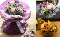 20/11 không cần ra tiệm vì đã có 5 cách gói hoa vừa đẹp vừa đơn giản này