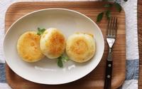 Bữa sáng ngon hết nấc với bánh khoai tây chiên phô mai