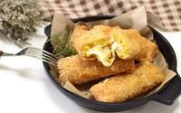 Giòn ngon bánh mì cuộn khoai lang chiên xù