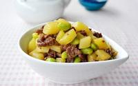 Bò xào khoai tây - giản dị mà ngon cơm