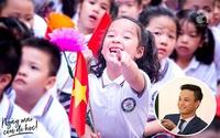 """Bé Nhím - con gái diễn viên Hồng Đăng """"đáng yêu tan chảy"""" trong ngày khai trường đầu tiên"""