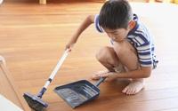 Chỉ với một chiếc đồng hồ, bạn sẽ giúp con làm việc nhà đầy hào hứng