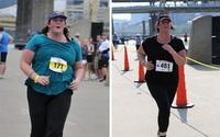 Người phụ nữ giảm hơn 18kg chỉ nhờ chạy và áp dụng cách này mỗi tuần 2 lần