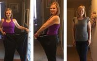 Bà mẹ béo phì giảm hơn 70kg trong chưa đầy 1 năm