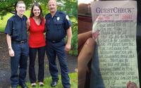 Tặng bữa sáng cho lính cứu hỏa, cô gái không ngờ sự đền đáp tiếp nối mang lại cho mình một món quà bất ngờ