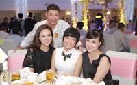 Công Lý cười tươi bên cạnh cả tình mới lẫn vợ cũ tại đám cưới MC Thành Trung