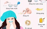 7 việc đơn giản có thể làm ở nhà để phòng ngừa và chữa những bệnh hầu như ai cũng gặp vào mùa đông