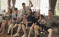 Clip đáng yêu giờ mới bật mí trong chuyến đi chơi của 3 gia đình hot nhất MXH Việt!