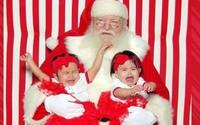 """Những khoảnh khắc """"cười ra nước mắt""""  vì không phải bé nào cũng thích Noel như cha mẹ vẫn nghĩ"""