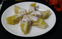 Dùng chuối cũ làm ngay bánh chuối hấp cốt dừa thơm lừng