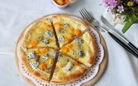 Mách bạn làm bánh pizza trái cây đơn giản mà tuyệt ngon
