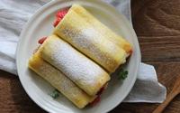 Đổi vị cho bữa sáng thật hoàn hảo với sandwich cuộn trái cây