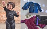 """Quần áo """"lớn"""" cùng con: Phát minh vừa được giải thưởng đột phá khiến các bà mẹ bỉm sữa thích thú"""