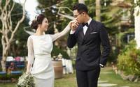 Hé lộ bộ ảnh cưới đẹp lãng mạn của MC Đức Bảo