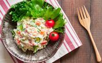 Salad khoai tây kiểu Nhật món ngon thanh mát