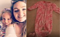 Bé gái 3 tuổi gần như nghẹt thở bởi chiếc áo quen thuộc mà nhiều bố mẹ mặc cho con khi ngủ