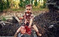 """Tổ chức sinh nhật cho con theo chủ đề """"zombie ăn não"""", người mẹ trẻ bị ném đá dữ dội dù chưa ai biết nguyên do thực sự"""