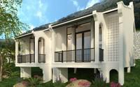 Hoài niệm kiến trúc Đông Dương với nhà ngoại ô Maison De Campagne