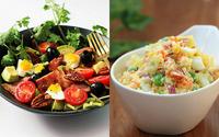 Muốn giảm cân chớ bỏ qua công thức làm 2 món salad cực ngon này!