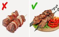 Nướng thịt mà cứ mắc những lỗi sai này thì muôn đời bạn không được thưởng thức xiên thịt nướng thơm ngon do chính tay mình làm