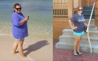 Từng bất lực trước cơ thể béo phì nhưng cô nàng này giảm được đến 45 ký chỉ nhờ vào 3 nguyên tắc đơn giản