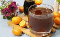 Mùa đông không lạnh với trà kim quất mật ong thơm phức cực ngon
