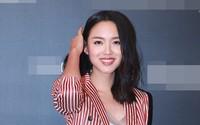 """Hoa hậu Thế giới kiêm """"mẹ bỉm sữa"""" Trương Tử Lâm khoe nhan sắc rạng rỡ ở tuổi 33"""