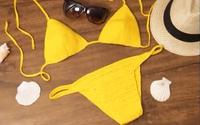 Tự móc bikini bằng len đi biển mùa hè thật cá tính và thời trang