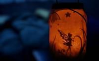 Đừng vội vứt lọ thuỷ tinh cũ hãy làm đèn lồng xinh xắn trang trí nhà nhé!