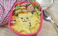 Bữa trưa ngon miệng với hộp bento Pokemon đẹp mắt