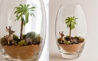 """""""Hô biến"""" chiếc cốc thành khu vườn mini trang trí nhà xinh"""