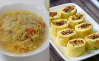 2 món nấu nhanh vẫn đủ chất cho bữa tối vội vã