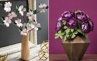 2 cách làm hoa giấy siêu nhanh trang trí nhà đẹp ấn tượng
