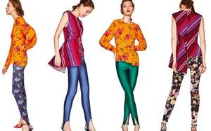 """Sau """"dép lau nhà"""" Zara lại tiếp tục tung thêm 4 mẫu legging màu mè khó hiểu"""