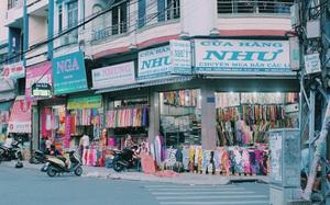 """Muốn """"mua vải may da"""", đừng quên ghé ngang khu chợ Soái Kình Lâm trăm năm tuổi ở Sài Gòn"""