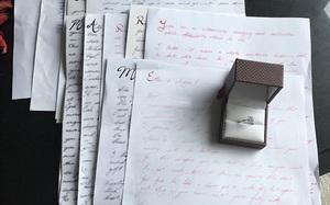 Nhận được 14 lá thư tình suốt 3 năm hẹn hò, cô gái không nhận ra điều đặc biệt này cho đến khi…