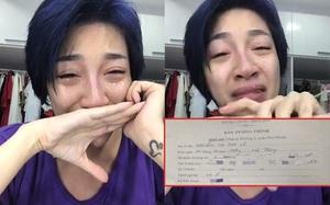 Nữ ca sĩ Pha Lê khóc nức nở sau khi bị cướp túi xách, mất 60 triệu và toàn bộ giấy tờ