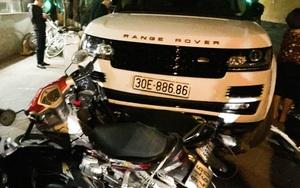 Nghi trộm xe sang, gây tai nạn liên hoàn trên đường phố Hà Nội