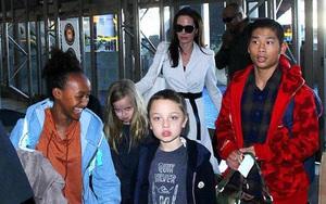Các con cầu xin Angelina Jolie mời Brad Pitt tới dự tiệc sinh nhật