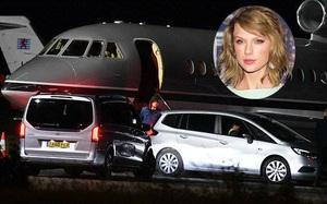 Taylor Swift cho phi cơ riêng chở tình mới Joe Alwyn về Anh