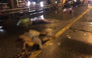 Hà Nội: Tai nạn nghiêm trọng trên cầu Chương Dương khiến 3 người tử vong tại chỗ