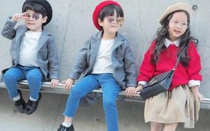 Đến tuần lễ thời trang Seoul, bạn sẽ chết mê với loạt street style chất lừ của các nhóc tì