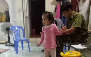 Hưng Yên: Bé gái 3 tuổi bỗng dưng bị bỏ rơi trước cửa nhà người dân 1 ngày chưa có ai nhận