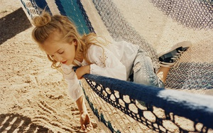 Bắt nhanh xu hướng hè này cho bé từ lookbook H&M, Zara, Mango